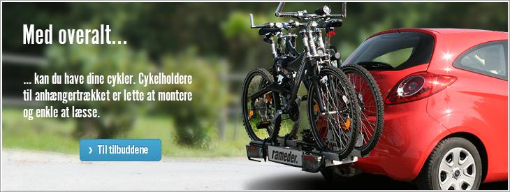 Med overalt kan du have dine cykler.