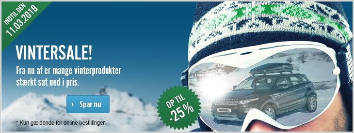 Vintersale! Fra nu af er mange vinterprodukter stærkt sat ned i pris.